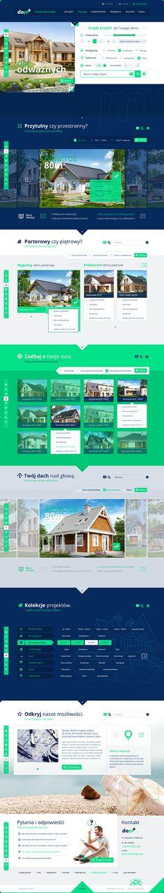 Cool Web Design on the Internet. Dom. #webdesign #webdevelopment #website