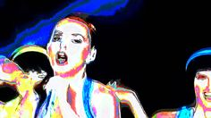 Katy Perry Abstract