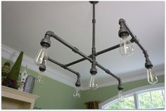 Hey, I found this really awesome Etsy listing at https://www.etsy.com/listing/217045963/iron-edison-chandelier