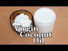 Virgin coconut oil, home made