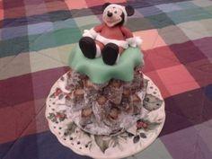 Topolino Natale - http://tortedecorate.eu/topolino-natale/