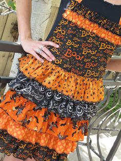 Halloween Apron Tutorial - or any holiday