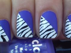 I don't even like zebra print but this is cute.
