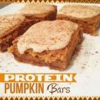 Pumpkin Protein Bars by Jamie Eason (picture by Made with Love)
