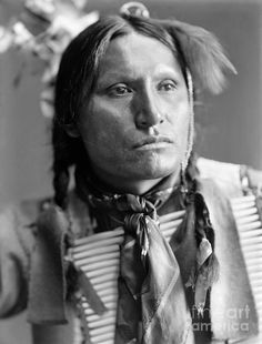 SIOUX NATIVE AMERICAN, c1900. Samuel American Horse, an Oglala Sioux Native American, from Buffalo Bill's Wild West Show. Photograph by Gertrude Käsebier, c1900.