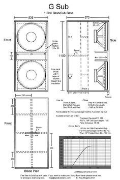 box speaker model G sub Pro Audio Speakers, Audiophile Speakers, Speaker Amplifier, Diy Speakers, Built In Speakers, Horn Speakers, Hifi Audio, Custom Speaker Boxes, Speaker Box Design