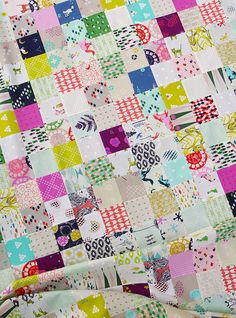 Cotton and Steel Quilt Top - Fall 2014 collection | Red Pepper Quilts