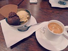 Coffee and Ice Cream at La Maison Berthillon, Paris