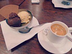 Coffee and Ice Cream at La Maison Berthillon, Paris