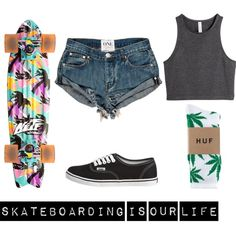 """""""skate"""" by dashass on Polyvore"""