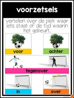 Juf-Stuff: Posters woordsoorten School Hacks, Learn Dutch, Dutch Language, School Posters, Teacher Education, Learning Quotes, Teaching Math, Homeschool, Biology