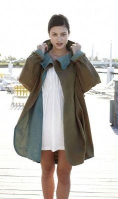 love this raincoat - waxed cotton