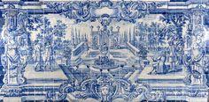 Rio de Janeiro   Igreja de / Church of Nossa Senhora da Glória do Outeiro   sacristia / sacristy #Azulejo #AzulEBranco #BlueAndWhite #Barroco #Baroque #Brasil #Brazil