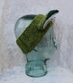 Speckled Green Fox Headband