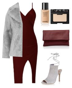 """Untitled #248"" by oliviacarolineantonia ❤ liked on Polyvore featuring Jakke, New Look and NARS Cosmetics"