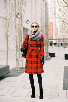 Vanessa Jackman: New York Fashion Week AW 2012/13  Love this coat.
