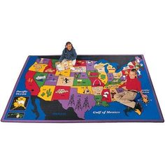 Geography Discover America Kids Rug Rug Size 510 x 84 >>> You can get additional details at the image link.Note:It is affiliate link to Amazon.