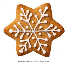 Buy Christmas Gingerbread by Bozena_Fulawka on PhotoDune. Star shape christmas gingerbread isolated on white background Christmas Cupcakes, Christmas Sweets, Christmas Gingerbread, Christmas Mood, Gingerbread Cookies, Christmas Star, Star Cookies, Royal Icing Cookies, Holiday Baking