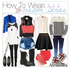 How To Wear: Fandom Series, created by the-tip-adventure on Polyvore