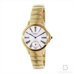 Seiko Women's SRKZ56 Gold Stainless-Steel Quartz Watch