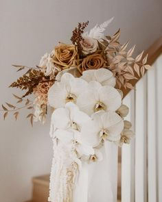 Modern wedding flowers - Repost The tones in this beautiful bouquet are total perfection Florals Photography Planning loverssociety loverssocie Modern Wedding Flowers, Bridal Flowers, Floral Wedding, Wedding Themes, Wedding Colors, Wedding Decorations, Bride Bouquets, Floral Bouquets, White Orchid Bouquet