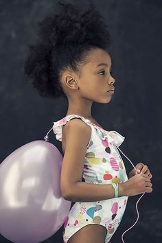 {Grow Lust Worthy Hair FASTER Naturally}>>> www.HairTriggerr.com <<< How Precious is this Natural Hair Princess!!