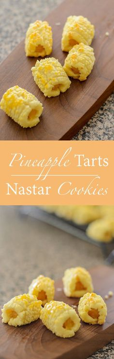 Welcome the Lunar year / Chinese New Year with soft, melt-in-mouth Pineapple Tarts / Nastar Cookies