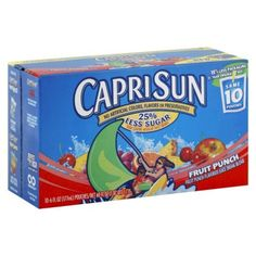 Capri Sun Fruit Punch 10PK