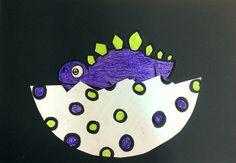 Baby dinosaur from Dinosaur storytime.