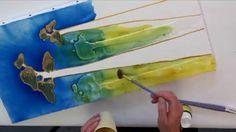 Découvrez le mixed média avec Pébéo en réalisant un beau tableau Baobab ! Cette technique vous permettra d'utiliser vos fins de tubes de peinture tout en app...