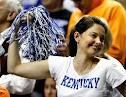 Ashley Judd cheering for Kentucky!