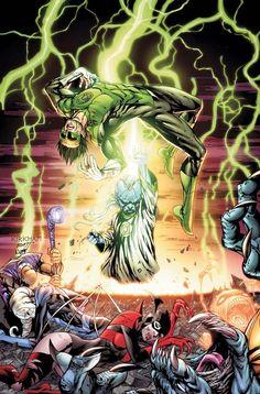 ArtVerso — Tyler Kirkham - Green Lantern Guardians
