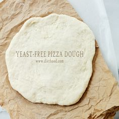 No Yeast Pizza Dough Recipe Yeast Free Pizza Dough- just made this. Add Italian seasoning and it's great!!