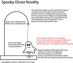 Free Patterns and ideas: Spooky Ghost Novelty