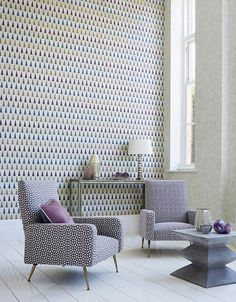 Tresillo Collection by Harlequin. #interiordesign #harlequin #fabrics #tresillo #malcolmfabrics