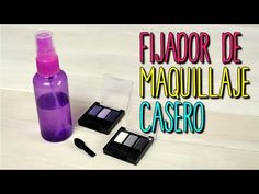 Fijador de Maquillaje Casero - Natural con Agua MIneral - Fix Plus DIY - Catwalk - YouTube
