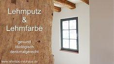 Lehmbauplatten mit Lehmputz und Lehmfarbe in Gelnhausen und Frankfurt