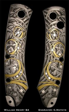 Engraver -Gert Mathys  WH B4 small pocket knife