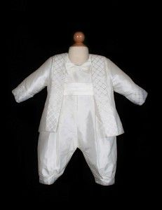 Boys Christening Outfits in satin and silk by Sweetie Pie Collection! www.SweetiePieCollection.com