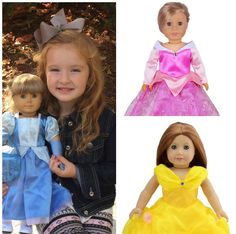"18"" Doll Dresses-9 Styles 