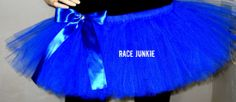 Royal Blue Adult tutu. Many Colors Available 9 inch by RaceJunkie, $29.99