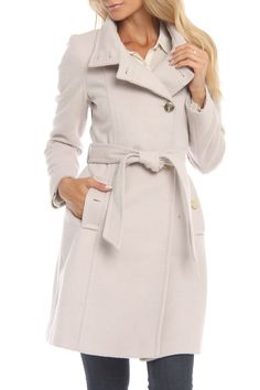 Tahari Chantal Jacket in Cream - Beyond the Rack