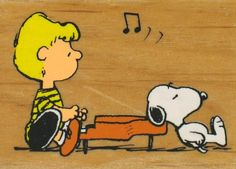 Schroeder and Snoopy.  I've decided that I'm a big fan of Schroeder