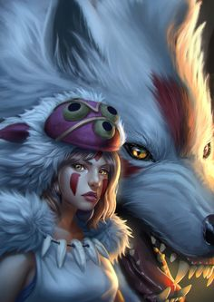 Princess mononoke2 by Zamberz on DeviantArt