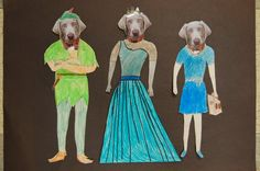 This project kept us laughing the whole class. After watching several videos and looking at still photos by William Wegman featuring his . Art History Lessons, Art Lessons, Art Careers, William Wegman, 4th Grade Art, Happy Art, Super Happy, Autumn Art, Dog Costumes