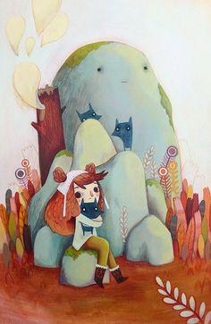 Illustrateur, Illustration jeunesse - Céline Deregnaucourt