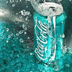 Coca Cola in the Cyan - The 2 things I like most: turquoise and Coke :p Mint Green Aesthetic, Blue Aesthetic Pastel, Aesthetic Colors, Aesthetic Pictures, Blue Wallpaper Iphone, Blue Wallpapers, Aesthetic Iphone Wallpaper, Photo Wall Collage, Picture Wall