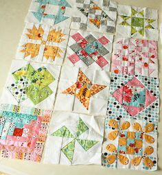 Clover & Violet — Why Not Sew? Quilts – Hand Pieced Quilt Blocks