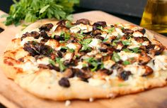 truffle-pizza-with-parsley