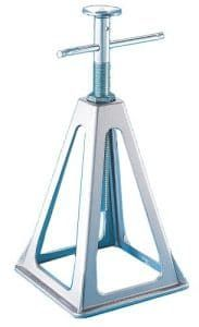 Camco Olympian RV Aluminum Stack Jack Stands are designed to get secure and level RV positioning and stability. It is made from cast aluminum and can support up to 6000 lbs. These Jack Stands extend up to and are easy to use. Trailer Stabilizer, Jack Stack, Lifted Cars, Lawn Equipment, Heavy Duty Trucks, Camper Trailers, Tripod Lamp, Olympians, Atelier